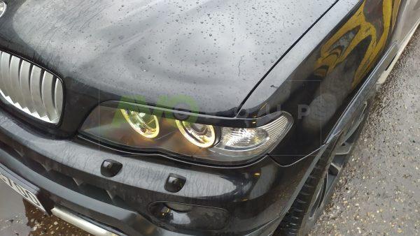 Headlight Eyelids for BMW X5 E53 03-06 v1