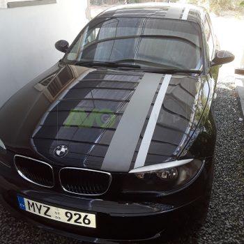 BMW 1 Eyebrows E81/E82/E87/E88 2004-2013