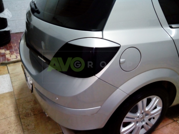 Opel Astra H Rear Eyebrows 2005-2010 (5 Door)