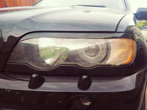BMW X5 Eyebrows E53 1999-2003