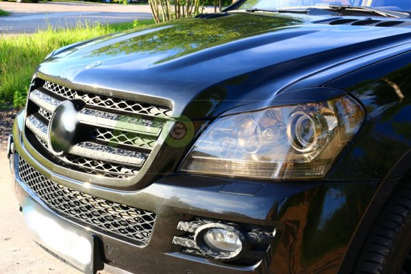 Mercedes-Benz X164 GL Eyebrows 2006-2012