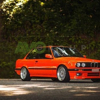 E30 1982-1994 front lower splitter spoiler 318 IS style