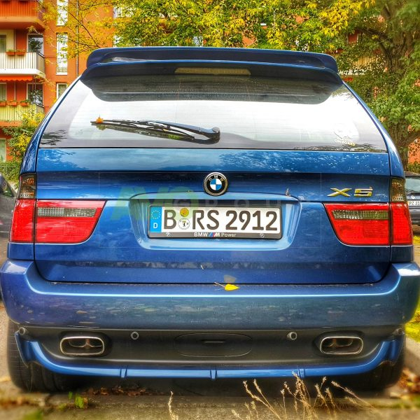 BMW X5 E53 Rear door spoiler HM Style 1999-2006