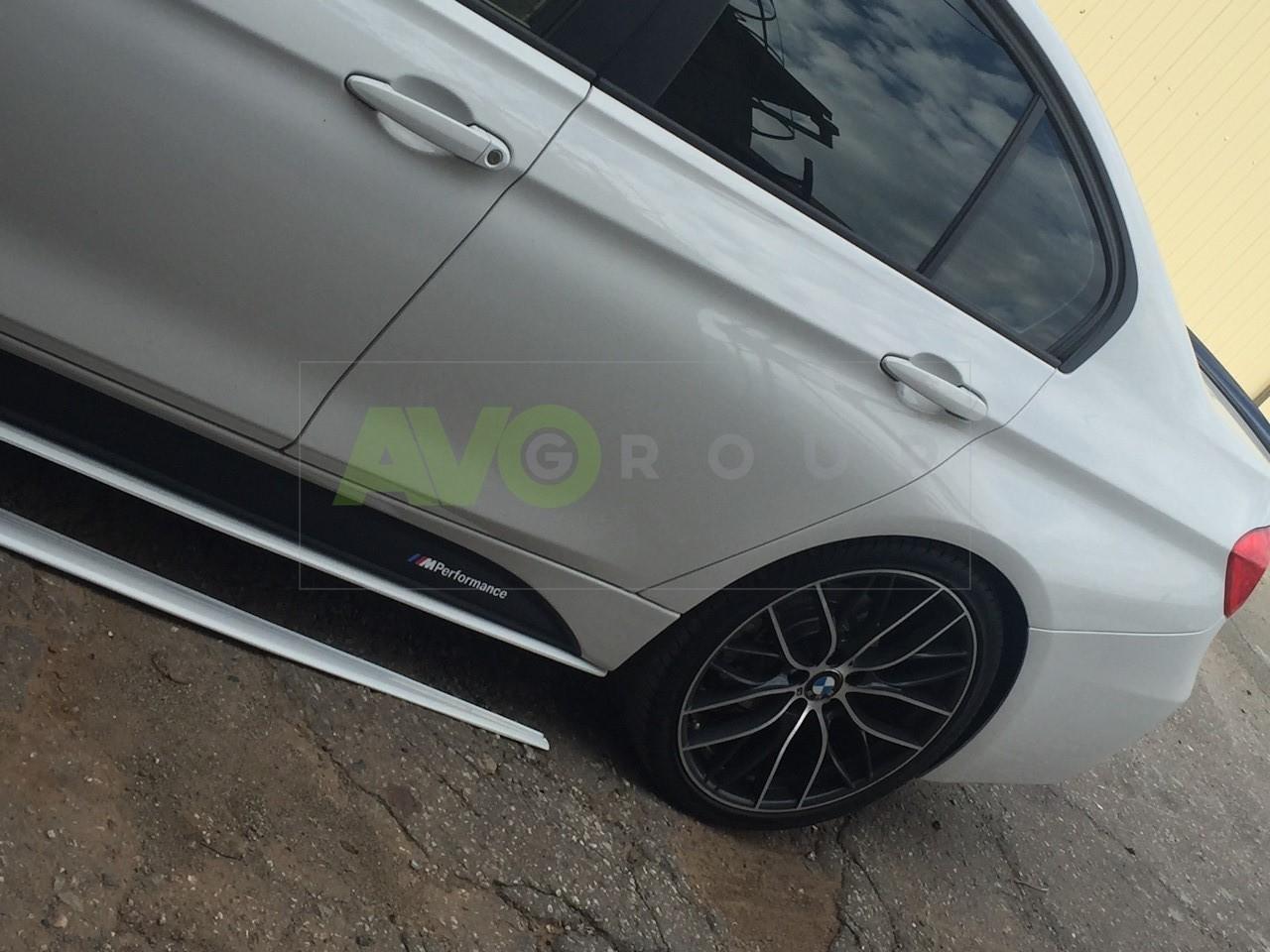 For BMW 3 Ser F30 F31 SE Sideskirt blades Add On Side Skirts