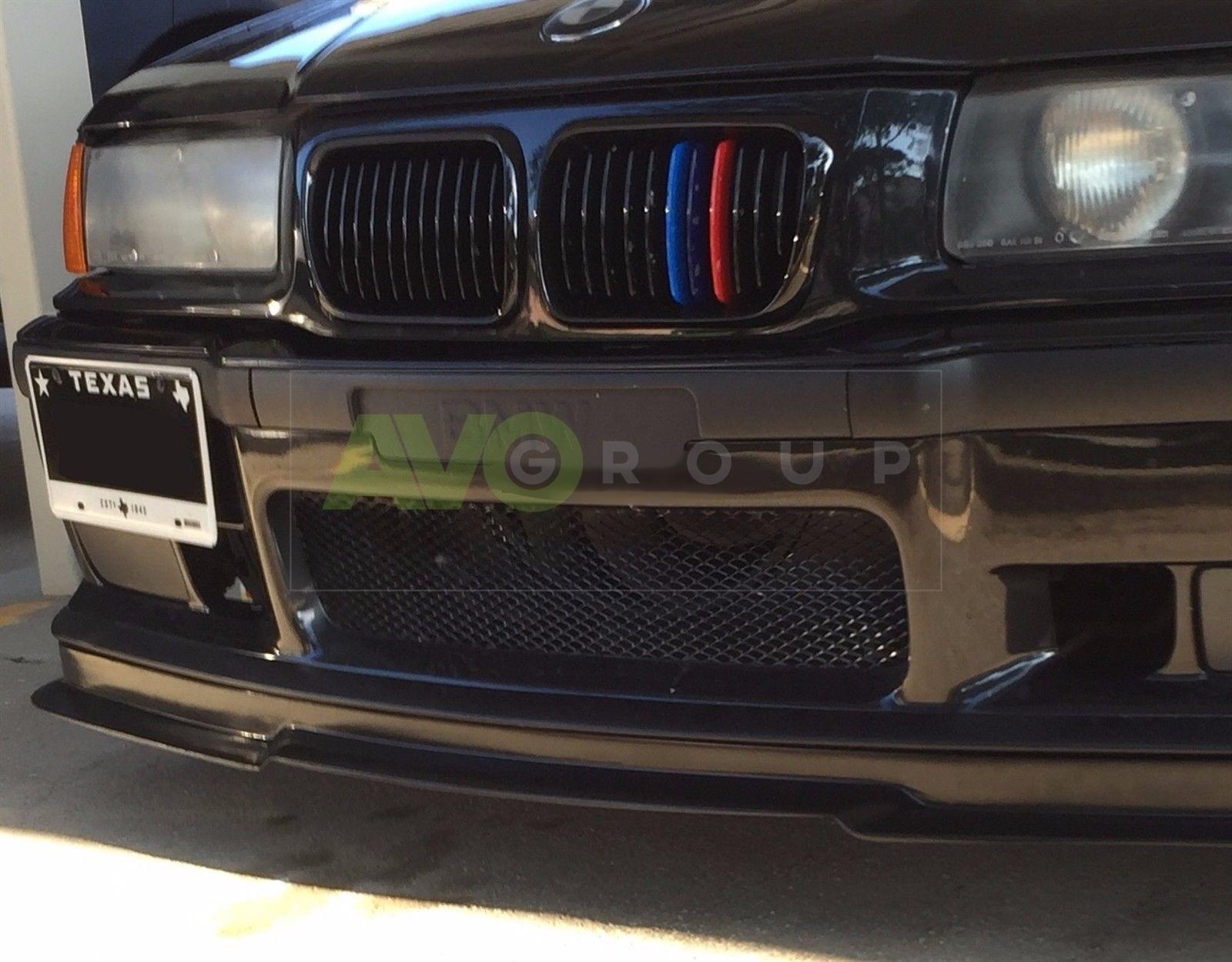 Front Spoiler Splitter For Bmw 3 E36 M3 Gtr 1990 2000 Avogroup Auto Parts Shop Service