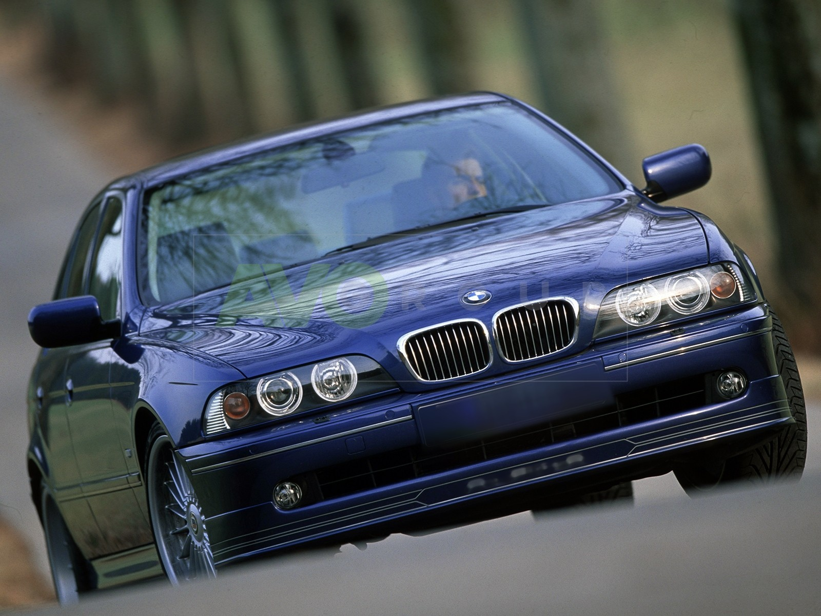 BMW 5 E39 2000-2004 ALPINA  FRONTSPOILER SPLITTER