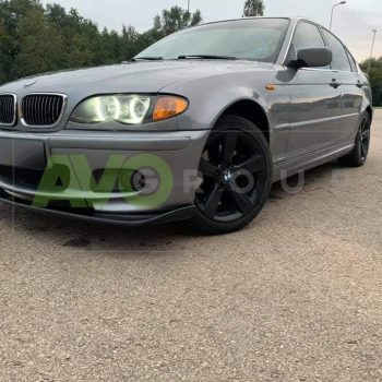 BMW 3 E46 HM Splitter 1998-2005 for M Sport Bumper