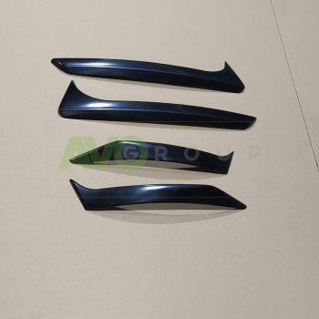 Skoda Octavia 3 Eyebrows SET 2013-2017 Front + Rear