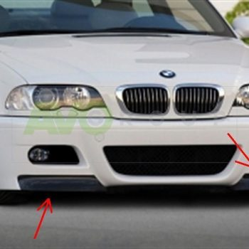 BMW 3 E46 Fangs for M3 Bumper