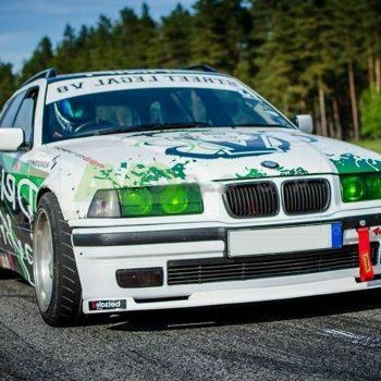 BMW 3 E36 Front Spoiler Splitter 1990-2000 for Standard Bumper