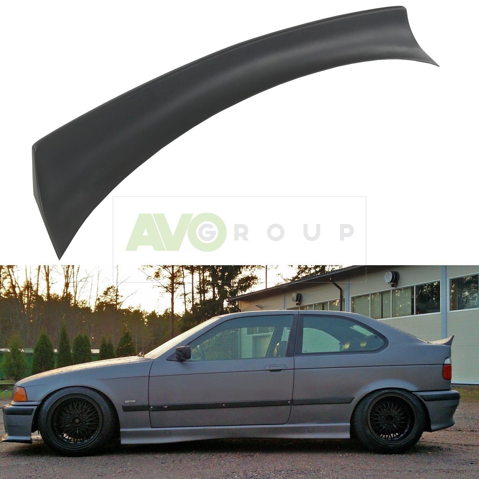 Jdm Rear Trunk Spoiler For Bmw 3 E36 93 00 Compact Avogroup Auto Parts Shop Service