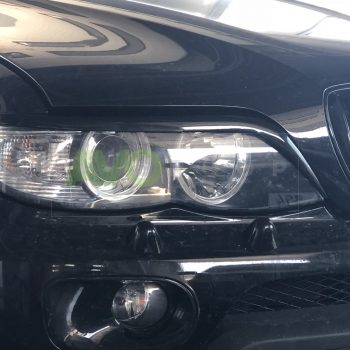 BMW X5 Eyebrows E53 2003-2006 var2