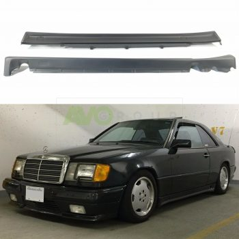 Mercedes-Benz E A124 C124 Side Skirts 1984-1994 Coupe Cabrio AMG Style