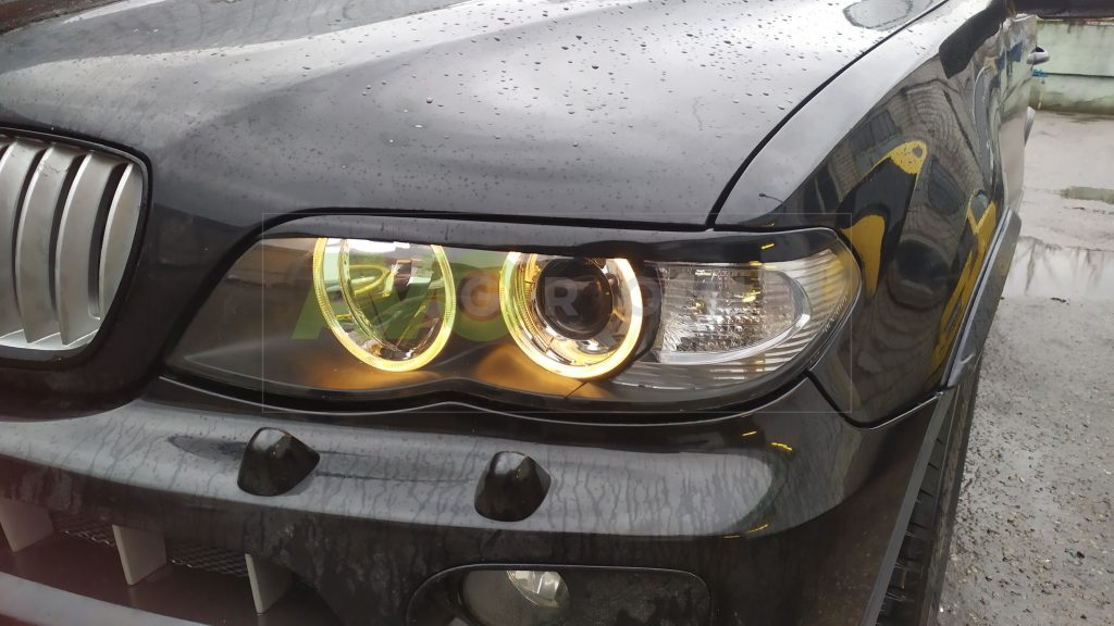 5 How to install Headlight Eyelids