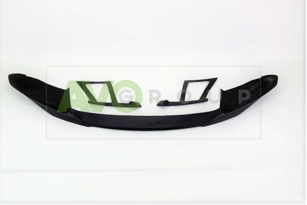 Front bumper lip splitter for BMW X6 F16 14-18