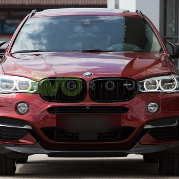 Front bumper lip splitter for BMW X6 F16 14-18