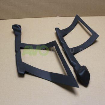 Mounting brackets for BMW X5 F16 front bumper lip splitter 14-18