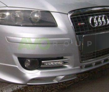Front Spoiler Splitter for Audi A3 8P 03-08