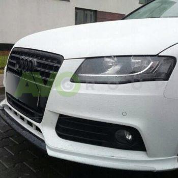 Front Spoiler Splitter for Audi A4 B8 Sedan Avant 08-11