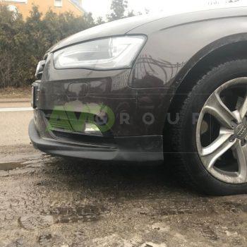 Front Spoiler Splitter for Audi A4 B8 Sedan Avant 08-11 v2