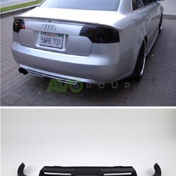 Rear Bumper Diffuser for Audi A4 B7 04-08