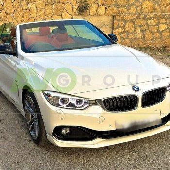 Front Spoiler Splitter for BMW 4 F32 F33 F36 13-16 SE v1