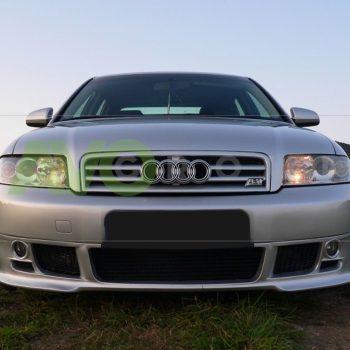 Front Spoiler Splitter for Audi A4 B6 Sedan Avant 00-05 v2