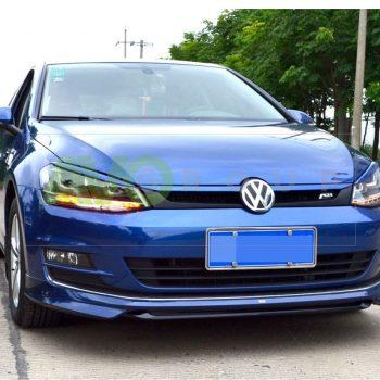 Front Spoiler Splitter for VW Golf 7 12-16