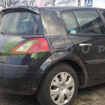 Trunk boot spoiler for Renault Megane 2 HB 02-06