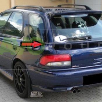 Trunk boot spoiler for Subaru Impreza GC Combi 92-00