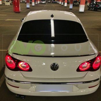 Trunk boot spoiler for VW Passat CC 08-16