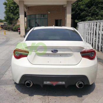 Trunk boot spoiler for Subaru BRZ 2012-