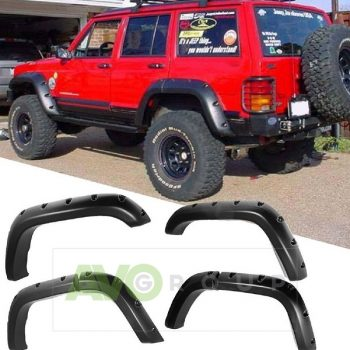 Wheels covers Wide Arches for Jeep Cherokee Mk2 XJ 88-01