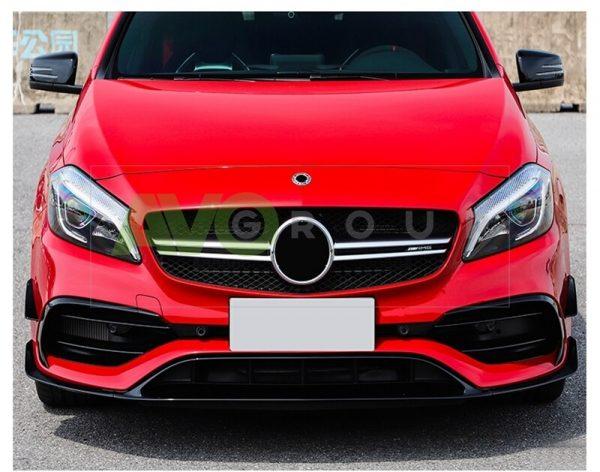 Front Spoiler Splitter for Mercedes-Benz A-Class W176