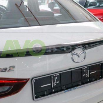Trunk boot spoiler for Mazda 2 Mk3 DJ 2014+