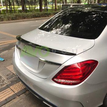 Trunk boot spoiler for Mercedes-Benz С-Class W205 14-18