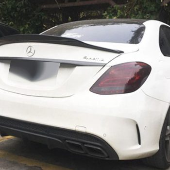 Trunk boot spoiler for Mercedes-Benz С-Class W205 14-18 v3