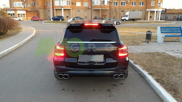 Backlight Eyelids for Porsche Cayenne Mk 1 955 02-06