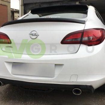Trunk boot spoiler for Opel Vauxhall Astra J Sedan 09-15