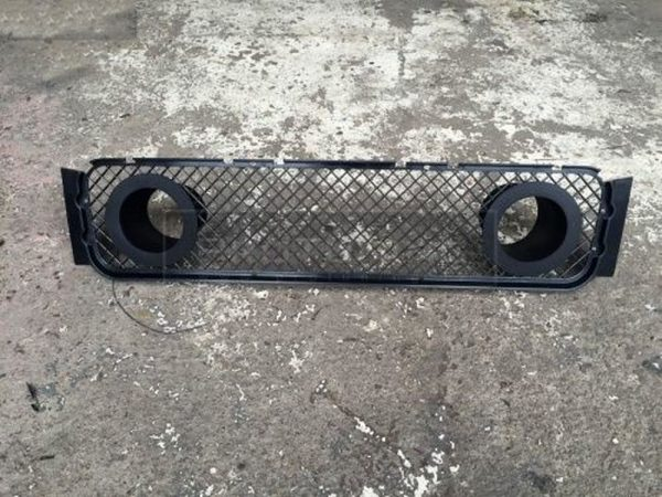Air intakes with grill for BMW 3 E36 M-Sport front bumper Black