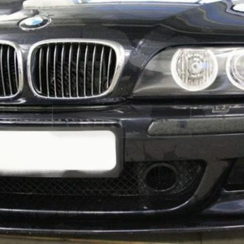 Air intakes with grill for BMW 5 E39 M5 M-Sport front bumper Black