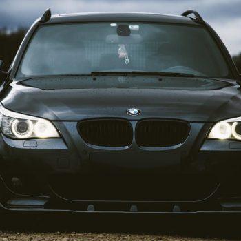 Front Spoiler Splitter for BMW 5 E60 / E61 03-10 v2