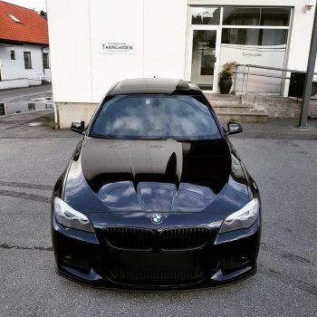 Front Spoiler Splitter for BMW 5 F10 F11 2010-2017 M Sport