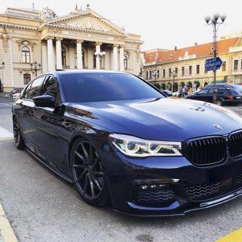 Front Spoiler Splitter for BMW 7 G11 G12 2015-2019 M Sport ABS Gloss