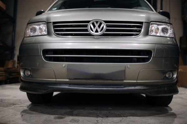 Front Spoiler Splitter for VW T5 03-09 Transporter Multivan Caravelle