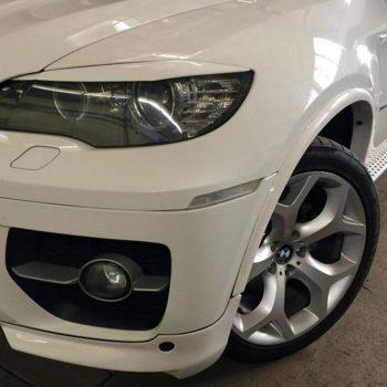 Front bumper Flaps Spoiler Splitters for BMW X6 E71 E72 07-14