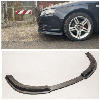 Front Spoiler Splitter for Audi A4 S line B7 S4 04-08