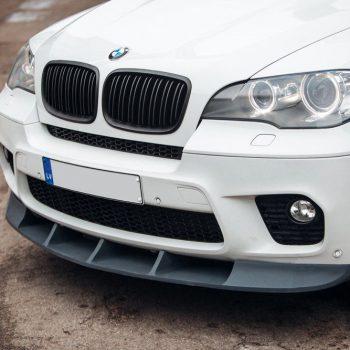 Front Spoiler Splitter for BMW X5 E70 M Sport 07-14 GRP
