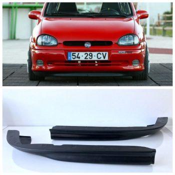 Front Spoiler Splitter for Opel Corsa GSI 93-00 ABS Matt