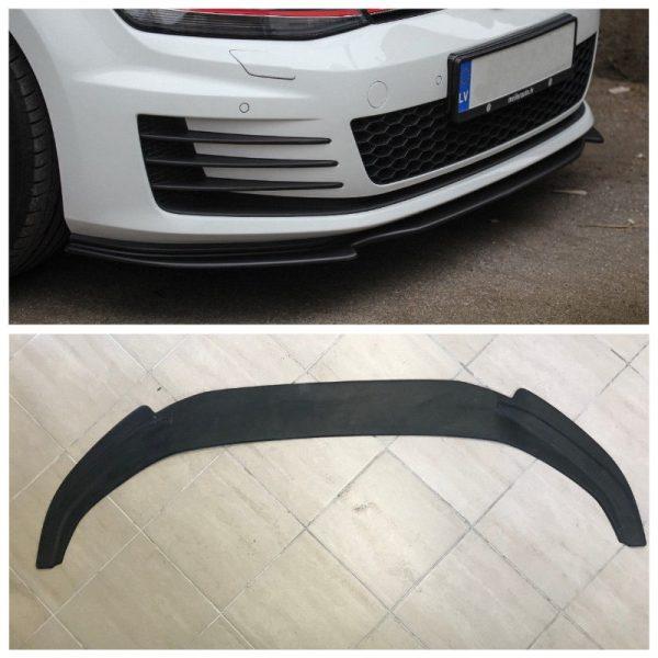Front Spoiler Splitter for VW Golf 7 GTI GTD 13-16